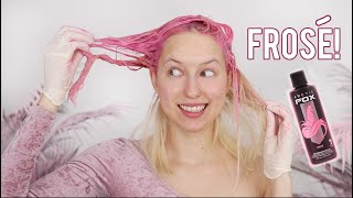 Dyeing my hair PINK   Arctic Fox Frose Review