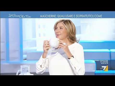 Mascherine, il tutorial dell'infettivologo Massimo Galli: 'La mascherina chirurgica protegge ...