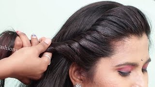 Easy Side Puff ponytail Hairstyle in just 1 Minute || hairstyles 2019 for girls | Hair Style Girl