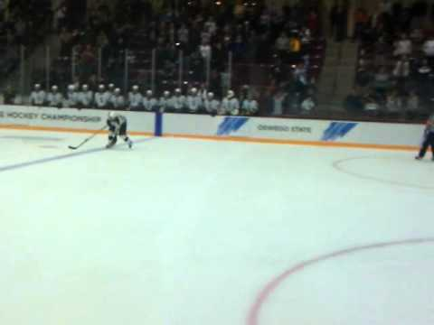 St. Norbert College Green Knights win the NCAA D-III Mens Ice Hockey National Championship!!