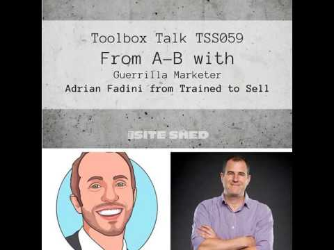 TSS059_From A to B with 'guerrilla marketer' Adrian Fadini