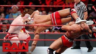 Cesaro Sheamus vs Seth Rollins Jason Jordan Raw Tag