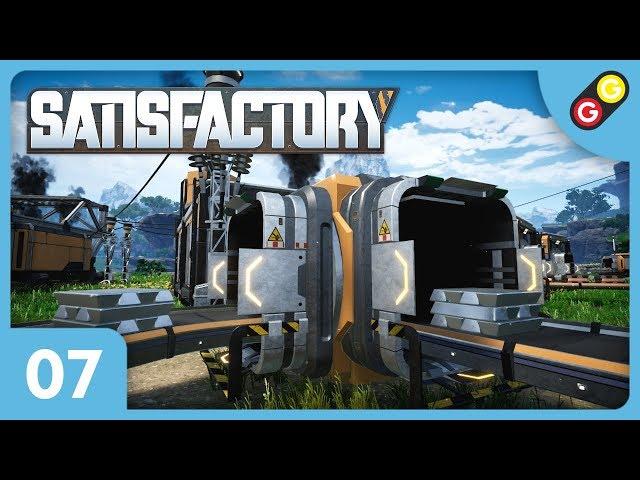 Satisfactory #07 On dédouble notre chaîne de production ! [FR]