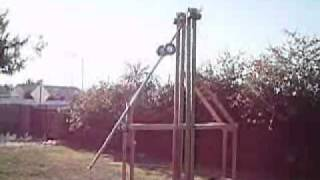 My Floating Arm Trebuchet Project