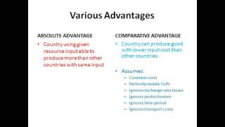 Globalisation - Economics A2 Level Unit 4
