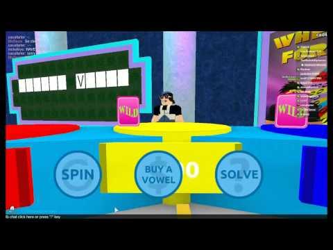 (Reboot) ROBLOX Wheel Of Fortune Episode 1: Loser-Ception!