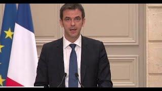 Le ministre de la Santé Olivier Véran fait le point sur l'épidémie de coronavirus