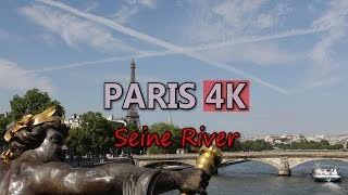 Ultra HD 4K Paris Travel France Tourism Seine River Sightseeing Tour Boat UHD Video Stock Footage(, 2016-03-13T21:50:37.000Z)