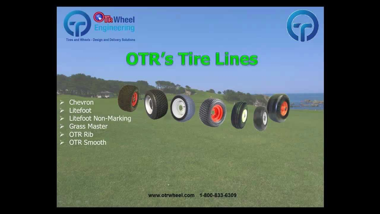 13x5.00-6 O T R Wheel Engineering OTR Turf Smooth Tire