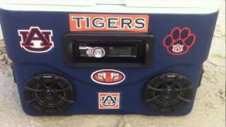 Auburn Ice Chest Stereo