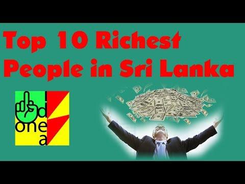 Top 10 Richest People in Sri Lanka