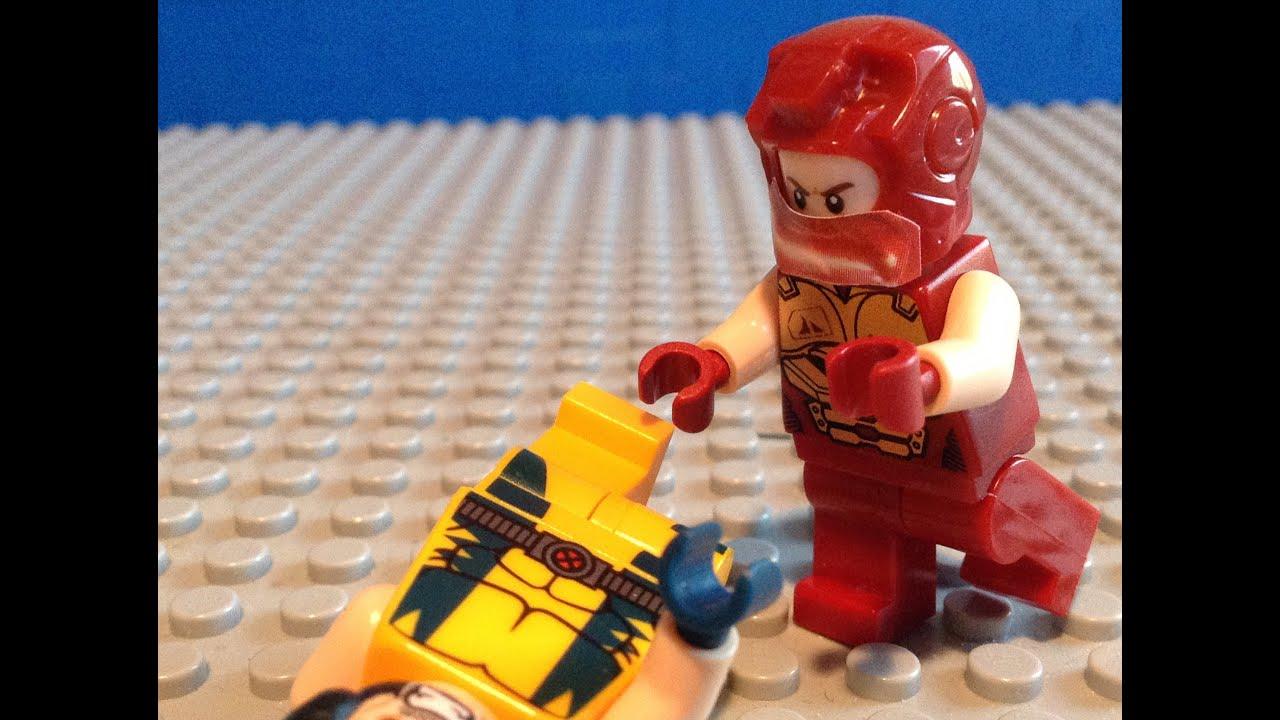 LEGO Marvel X-MEN Juggernaut Custom Minifigure - YouTube