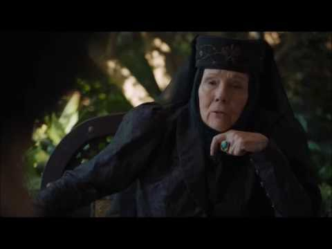 The Sand Snakes meet Olenna Tyrell  Game of Thres  6x10  A new alliance