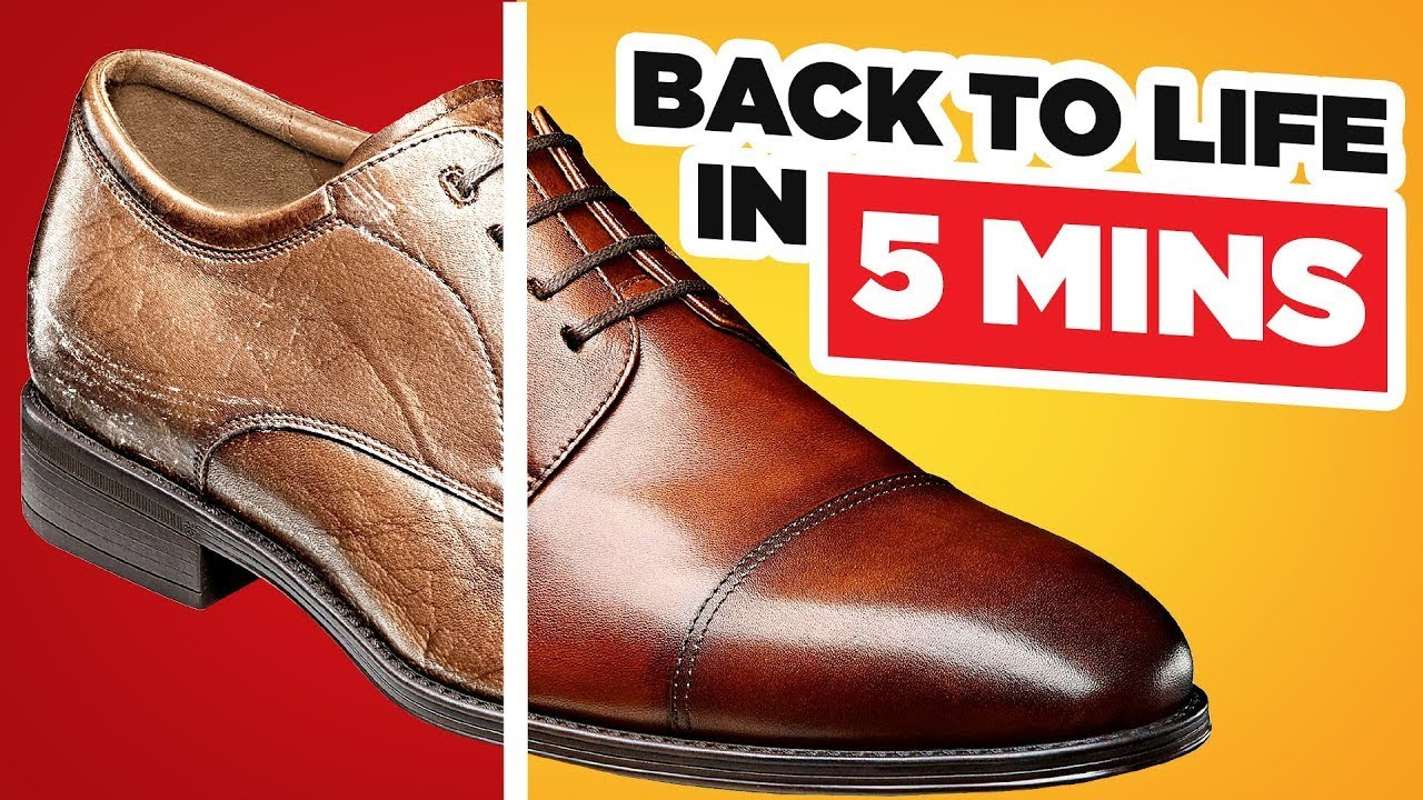 Bring Dress Shoes Back To Life In 5