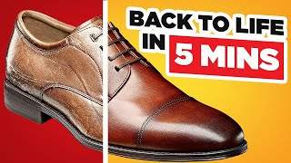 Eliminate Creases & Scuff Marks - Bring Dress Shoes Back To Life In 5 Minutes