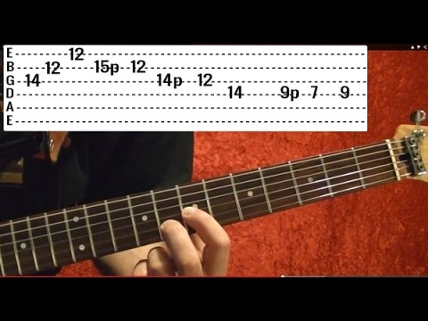Comfortably Numb Solo by PINK FLOYD - Guitar Lesson - David Gilmour ...