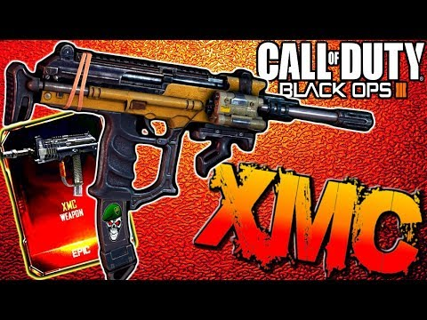NEW XMC GAMEPLAY! The Best Gun In Black Ops 3 (COD BO3 MSMC DLC GUN Grand Slam Multiplayer Gameplay)