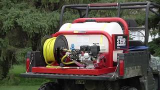 NorthStar Pest Control Skid Sprayer - 55-Gallon Tank, 160cc Honda GX160 Engine