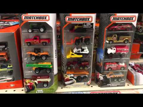 Toy Hunting for new Matchbox Tonka Hot Wheels Cars at Toys R Us by FamilyToyReview