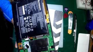 Не работает тач (touch screen) на Lenovo Tablet A7600H