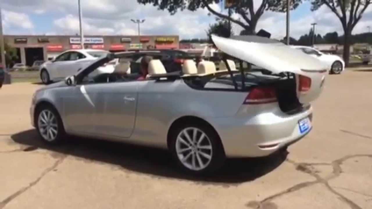 Volkswagen Eos Hard Top Convertible Roof Youtube