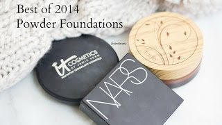 Best of 2014 Powder Foundations NARS, Tarte, and It Cosmetics, makeup, beauty, face, foundation, flawless face,