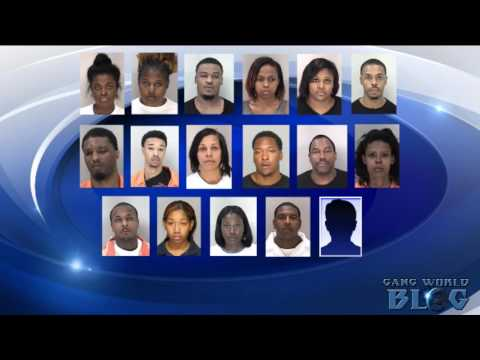 17 Members of Loyalty Over Everything Gang arested after 2 year investigation (Augusta, Ga.)