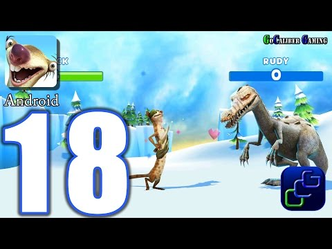 ICE AGE Adventures Android Walkthrough - Part 18 - Buck VS Rudy