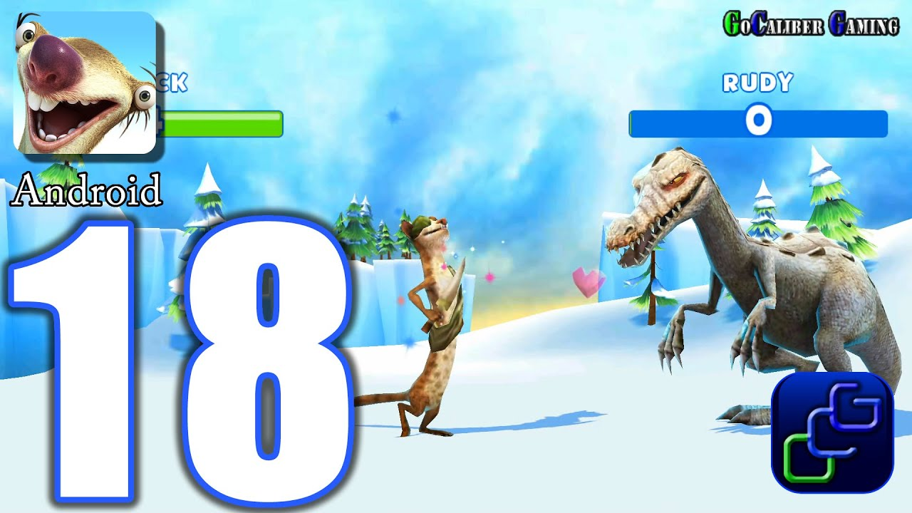 Ice Age Adventures Android Walkthrough Part 18 Buck Vs Rudy Youtube