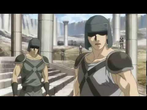 The Lost Canvas Episódio 02 O Despertar de Hades!