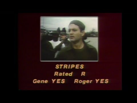 Stripes (1981) movie review - Sneak Previews with Roger Ebert and Gene Siskel