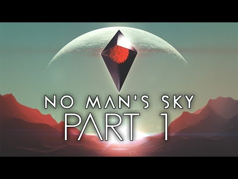 "No Man's Sky - Let's Play - Part 1 - ""First Planet And Ship Repair"""