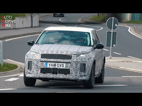2020 LAND ROVER DISCOVERY SPORT SPIED TESTING AT THE NÜRBURGRING