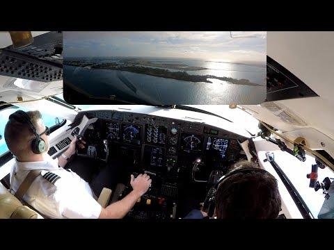 Gulfstream G-IV Landing in Bermuda - Pilot VLOG 112