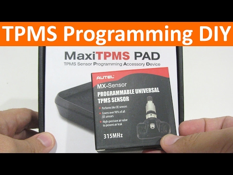 Gabe's Hacks: How to clone and program new TPMS sensors with