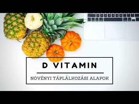 Növényi táplálkozási alapok: D vitamin