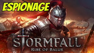Stormfall : Rise of Balur  - Espionage  (iOS Gameplay)