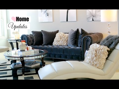 Fall Living Room And Dining Updates   Fall Living Room Decor And Tour  MissLizHeart