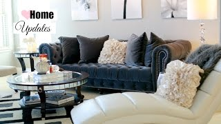 Fall Living Room And Dining Updates - Fall Living Room Decor And Tour Misslizheart