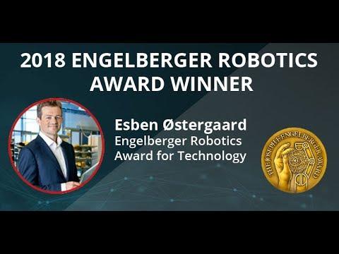2018 Engelberger Robotics Award Winner  Esben Østergaard