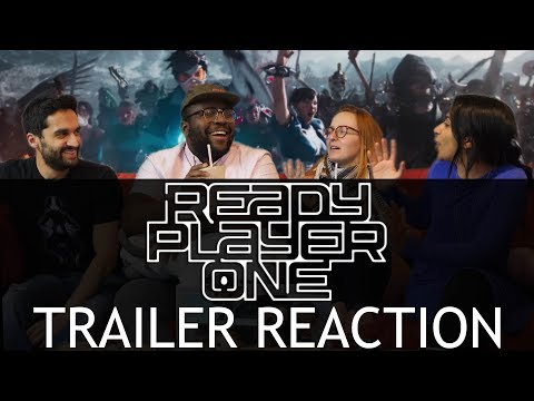 Ready Player One - Trailer 2 - Group Reaction Group Reaction