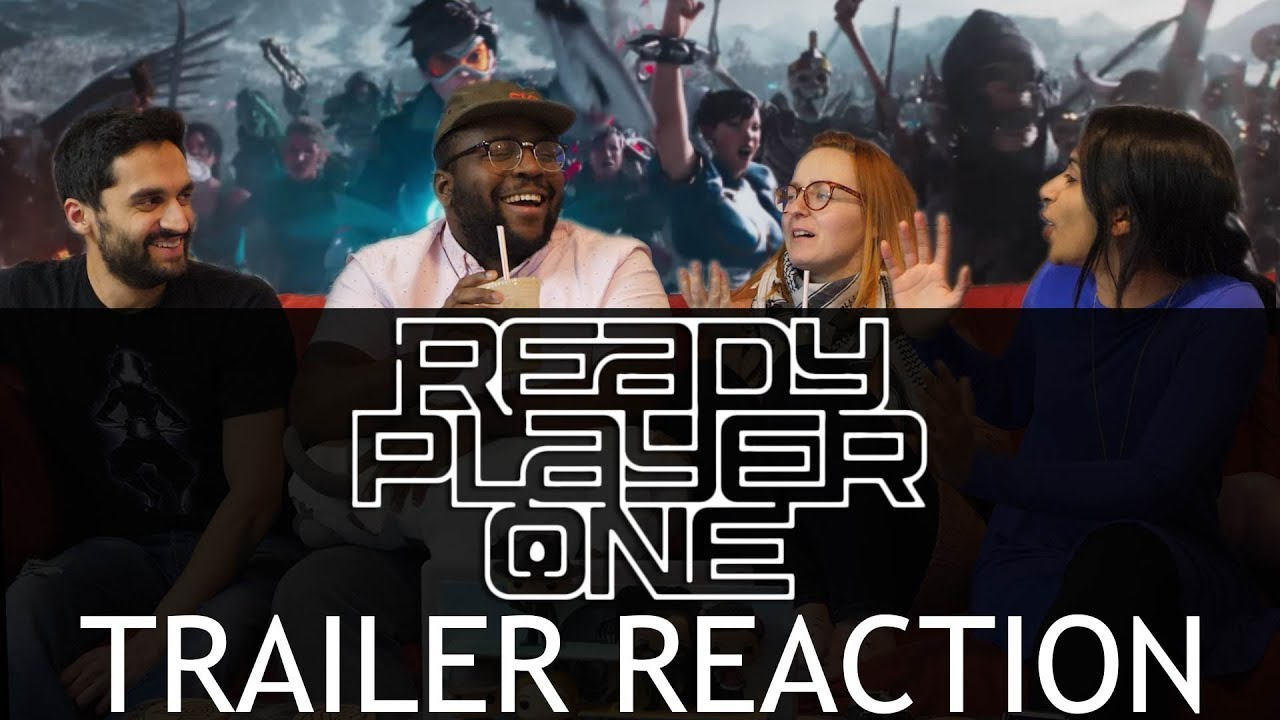 Ready Player One Trailer 2 Group Reaction Group Reaction
