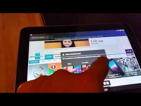 Samsung Galaxy Tab 8.9 running android 4.4.4!