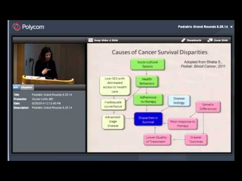 """""""Advances in the Classification and Treatment of Neuroblastoma..."""" Dr. Susan Cohn"""