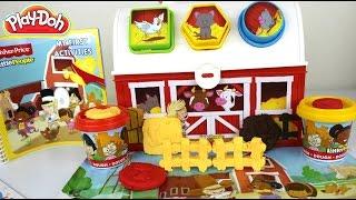 Plastilina Play Doh Little People Dough Farm Case | Play Doh Granja Con Formas Niños y Animalitos