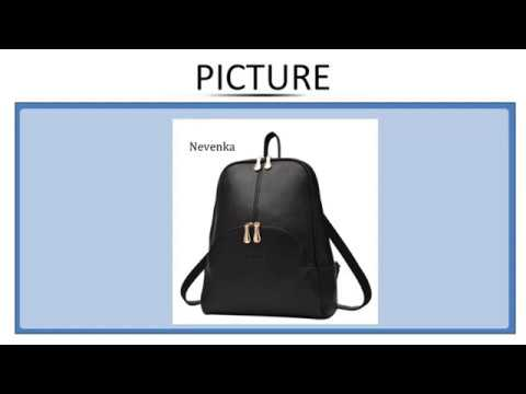 00ba79e8f316 Nevenka Women Backpack Leather Backpacks Softback Bags Brand Name Bag  Preppy Style Bag Casu