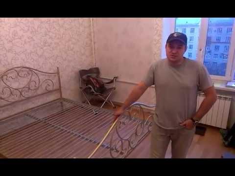 Металлическая кровать своими руками
