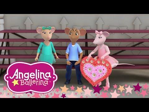 Angelina Ballerina Brasil - Os Corações Sobre Gelo - Episódio Completo