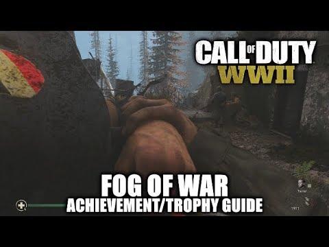 Call of duty ww2 fog of war achievement/trophy guide [mission 7.