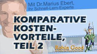 Teil 2, komparative Kostenvorteile